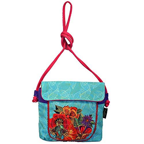 - Laurel Burch Floral Fascination Mini Cross Body Shoulder Bag