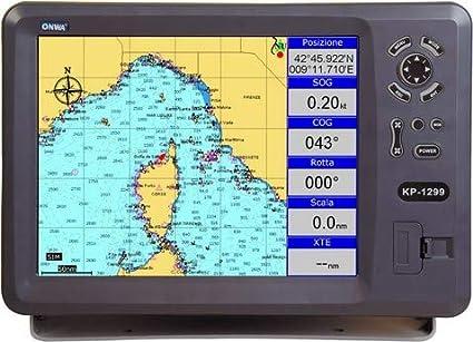 Plotter Cartográfico con GPS ONWA KP-1299B: Amazon.es: Electrónica