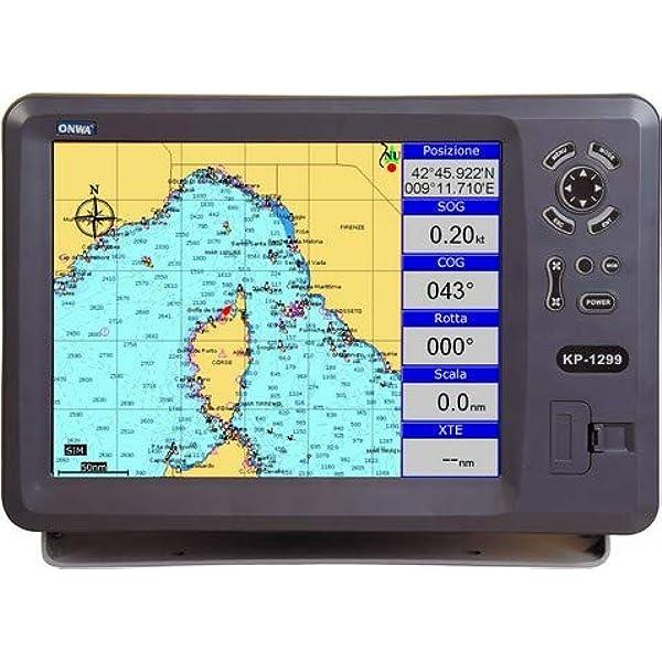 Plotter Cartográfico con GPS ONWA KP-1299A: Amazon.es: Electrónica