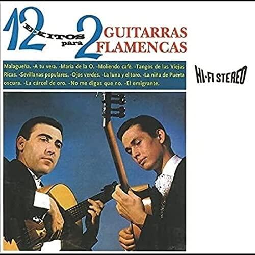 12 Exitos Para Dos Guitarras Flamencas (LP) [Vinilo]