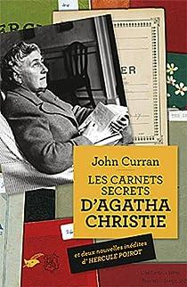 Les carnets secrets d'Agatha Christie par Curran