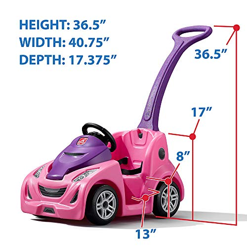 Step2 Push Around Buggy GT, Pink Push Car (Amazon Exclusive)