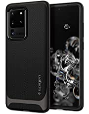 SPIGEN [Neo Hybrid] Galaxy S20 ULTRA Case Cover with Hard Frame and Flexible Inner Protection Designed for Samsung S20 ULTRA (2020) - Gunmetal