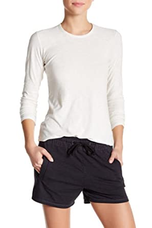 7429f4d14b0 Image Unavailable. Image not available for. Color: James Perse Women's Long  Sleeve Crew Neck ...