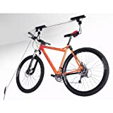 Idirectmart Garage Ceiling Lift Hoist Storage System for Bicycle