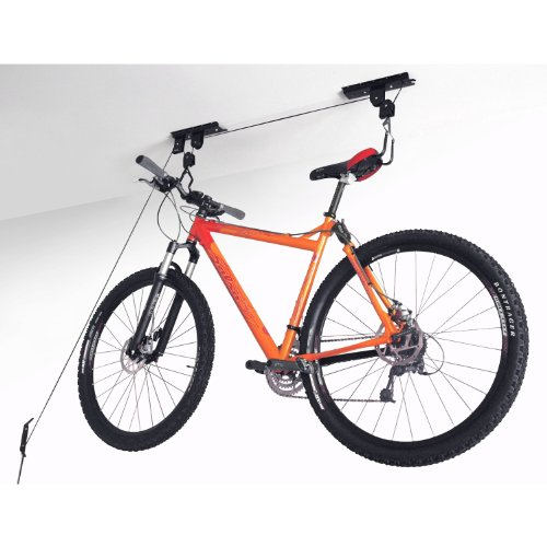Idirectmart Garage Ceiling Lift Hoist Storage System for Bicycle by Idirectmart