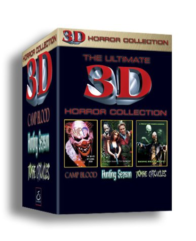 The Ultimate 3-D Horror Collection (Includes H3D Viewing - Tim Glasses Ford