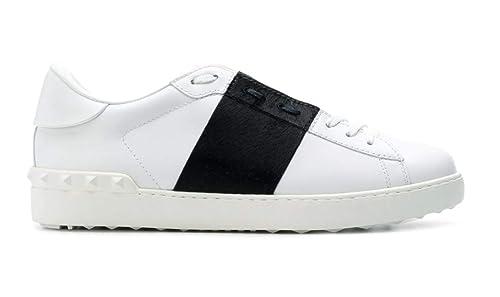 92c093347ff65 VALENTINO GARAVANI Men's Trainers Bianco-blu: Amazon.co.uk: Shoes & Bags
