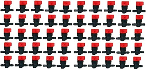 CUTTING PRO New Pack of 50 Inline Fuel Shut-Off Valves For Briggs & Stratton 494768, 698183 1/4