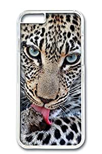 Custom Design Covers for iPhone 6 PC Transparent Case - I Am Watching You