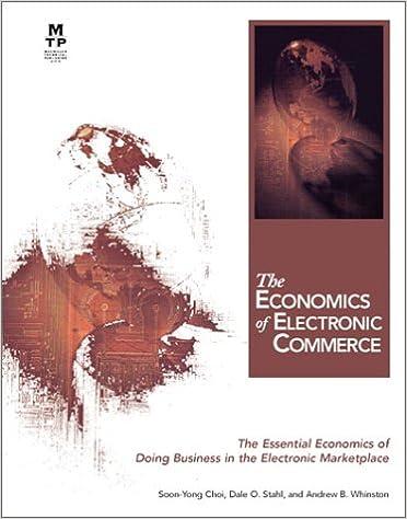 Gratis engelsk lærebog downloads The Economics of Electronic Commerce in Danish PDF ePub MOBI by Andrew B. Whinston,Dale O. Stahl