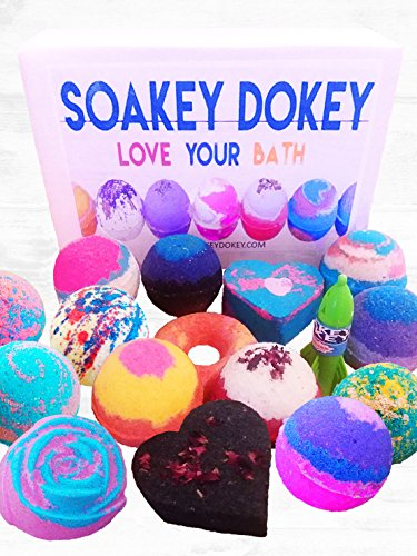 Bath Bombs - 9 pack FIZZY - 4.5 ounces BATH BOMB - Organic Colorful Mix and Match