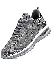 Autper Air Running Tennis Shoes for Men Lightweight Non Slip Sport Gym Walking Shoes Sneakers,Size US 7-12.5
