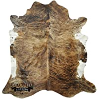Gaucho Cowhides Brown Brindle Natural Cowhide