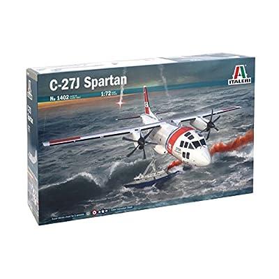 Italeri 1402S 1/72 C-27J Spartan Toy, Grey: Toys & Games