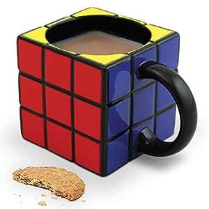 Taza De Ceramica En Forma De Cubo Rubik 3x3
