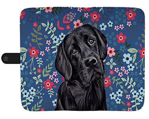 Gnarly Tees Black Lab Sweetheart Wallet Phone Case, Compatible Phone Case Replacement for Samsung Galaxy Note 8