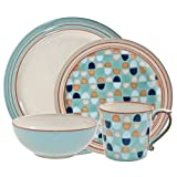 Denby 16-Piece Heritage Pavilion Dinner Set, Set of 4