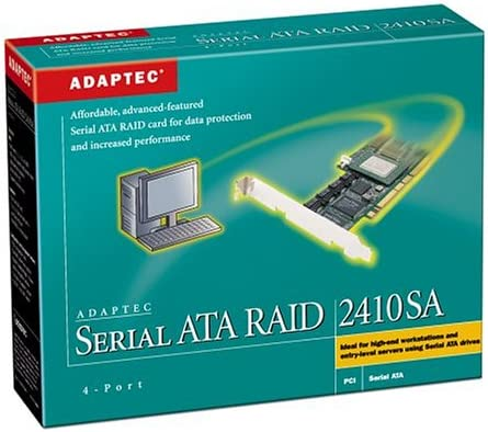 Adaptec SATA RAID 2410SA Controller Drivers Windows XP