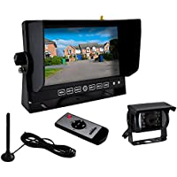 Pyle AZPLCMTR82WIR Wireless Weatherproof Rearview Backup Camera & Monitor Video System