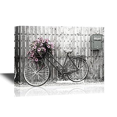 Retro Style Bike with Flowers 12