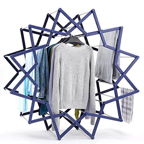 3 in 1 Folding Drying Rack, Rackaphile Adjustable Foldable C