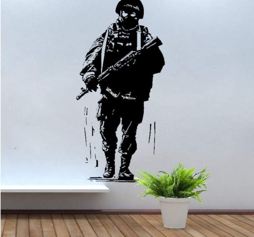 Etiqueta De La Pared Militar Ejército Del Ejército Tatuajes De ...