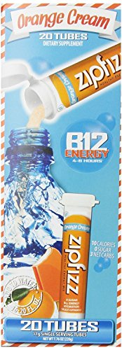Zipfizz Healthy Energy Drink Mix, Orange Cream (Orange Cream, 60-count) Zipfizz-bp by Zipfizz