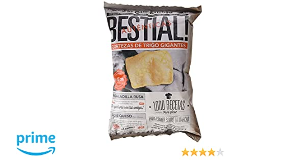 Bestial - Cortezas Trigo Gigantes Bolsa 100 g
