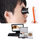 AnHua® 5.0 Mega Pixels USB Iriscope & Skin Scope, USB Out, 30x Iris Lens, 50X Skin lens with Pro Software 2 in 1 CE FCC