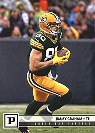 f0199c44b 2018 Panini NFL Football  114 Jimmy Graham Green Bay Packers Official  Trading Card