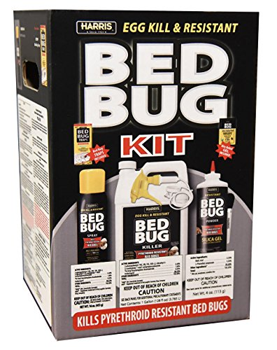 Harris 4-Step Bed Bug Killer Value Kit - Gallon Spray, Ae...