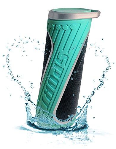 Waterproof Bluetooth Bike Speakers Turquoise