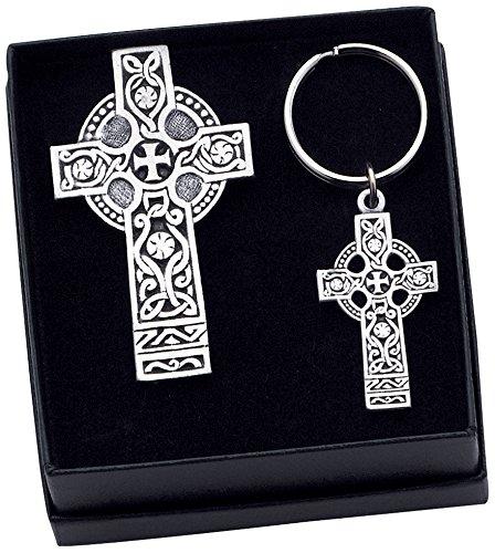 Cathedral Art KS102 Celtic Cross Visor C - Irish Wedding Cross Shopping Results