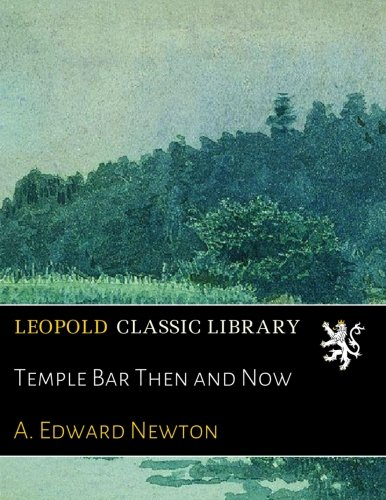 Download Temple Bar Then and Now pdf epub