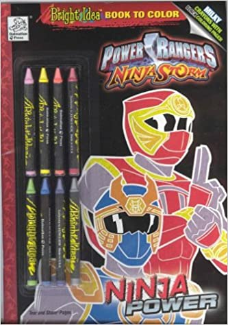 Power Rangers Ninja Storm Ninja Power Bright Idea Book to ...