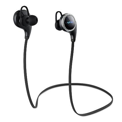 Vtin Inalámbrico Auriculares/Audífonos Deportivo Bluetooth 4.1,Versión QY8,Reducción de Ruido y