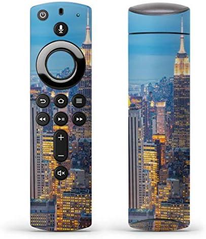 igsticker Fire TV Stick 第2世代 専用 リモコン用 全面 スキンシール フル 背面 側面 正面 ステッカー ケース 保護シール 010345 風景 景色 写真