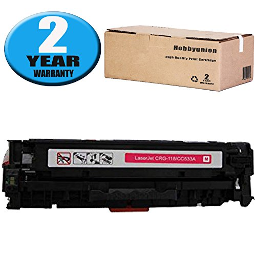 - 304A CC533A Toner Cartidge Magenta by Hobbyunion Replacement for Color LaserJet CP2025 CP2025N CP2025DN CM2320 CM2320N MFP CM2320NF MFP CM2320FXI MFP Printers (1 Pack )