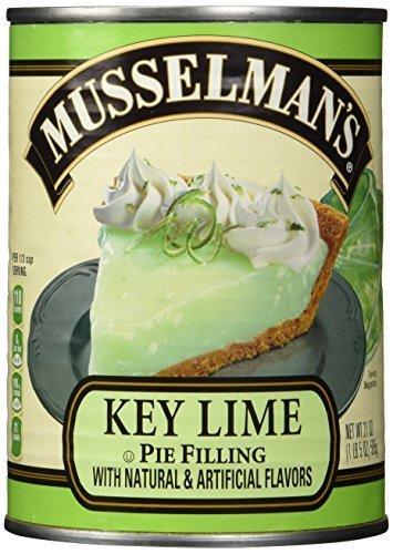 Mussselman's Key Lime Pie Filling 21 oz. - Key Lime Pie Cheesecake
