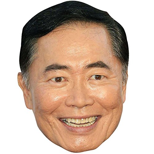 George Takei Celebrity Mask, Card Face and Fancy Dress (Simpsons Fancy Dress Costumes)