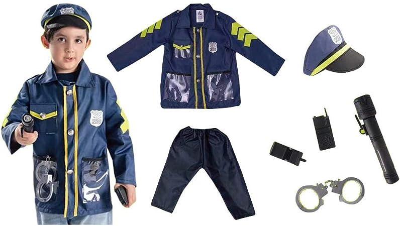 Disfraz para niños, abogado policía Play House uniforme bomberos ...