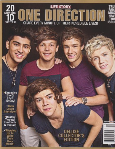 Life Story One Direction Magazine (Share every minute of their incredible lives!)
