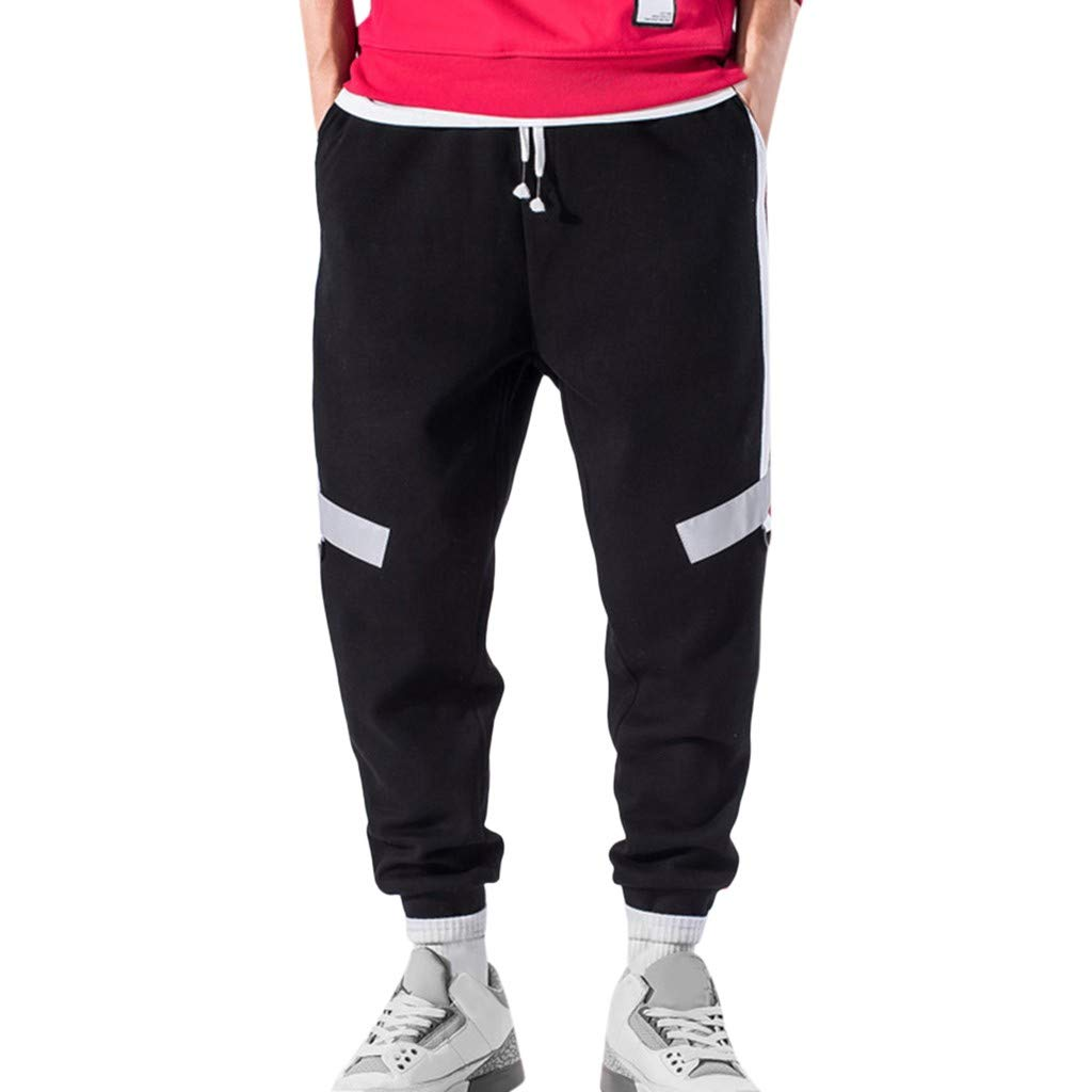 Aleola Men's Casual Outdoors Sports Straight Pants Long Trouser (33) by Aleola_Men's Pants