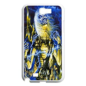 Samsung Galaxy N2 7100 Cell Phone Case White Iron Maiden Phone cover P566957