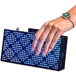 Creative Arts and Technology Cat Clutch LED Handbag