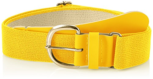 Champro Elastic Baseball Belt with 1.5-Inch Synthetic Tab (Gold, 28-52-Inch) ()