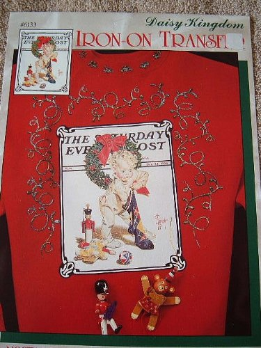 daisy-kingdom-nostalgic-christmas-collection-iron-on-transfer-saturday-evening-post-norman-rockwell-