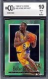 1996-97 E-X2000#30 Kobe Bryant Rookie Card Graded BCCG 10