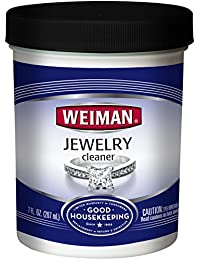 Jewelry Cleaner Liquid – Restores Shine and Brilliance to Gold, Diamond, Platinum Jewelry and Precious Stones – 7 Ounce